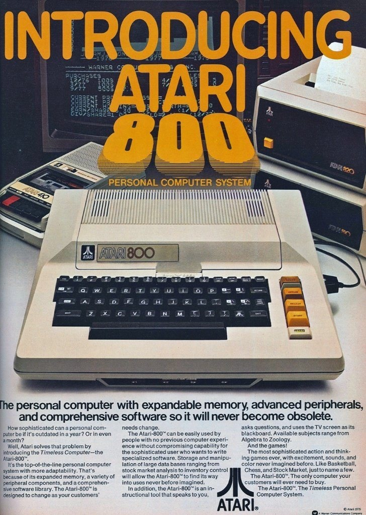 Atari 800 never obsolete