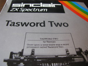 tasword two zx spectrum