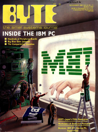 byte ibm pc 1983