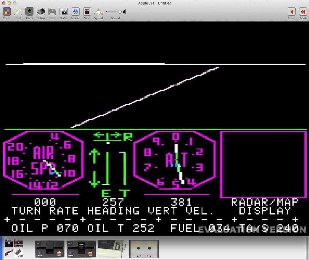 apple ii flight simulator