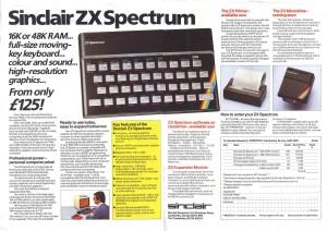 Sinclair ZX Spectrum Ad