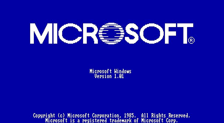 Windows 1.0 Archeologia Informatica