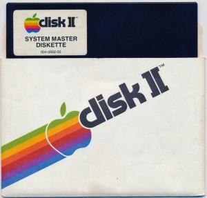 apple dos system master diskette