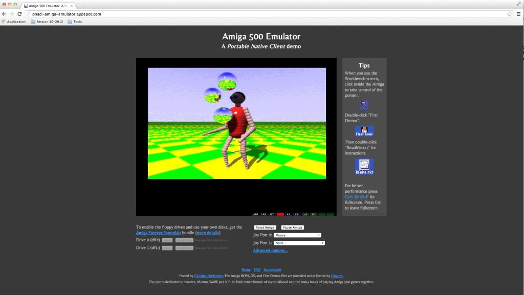 Amiga Emulator Juggler