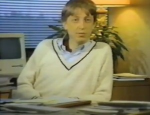 Bill Gates Macintosh testimonial