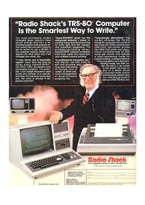 Isaac Asimov Tandy Radio Shack