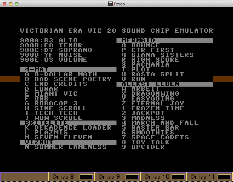 emulatore Vic-20 Commodore 64
