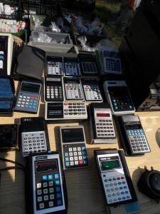 Marzaglia 2014 - calcolatrici assortite