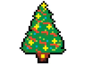 8bit albero di natale