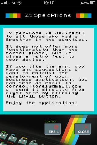 ZX SpecPhone