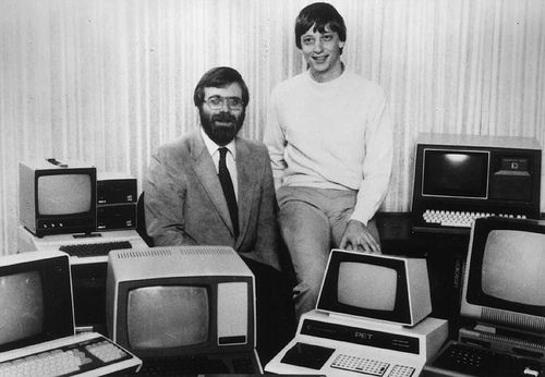 bill gates paul allen microsoft