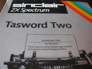 tasword two zx spectrum