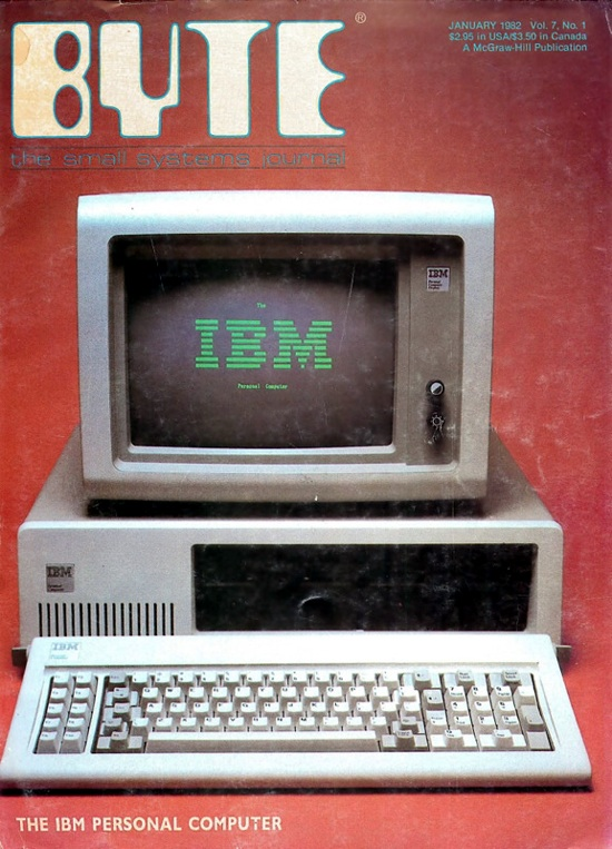 pc ibm byte magazine