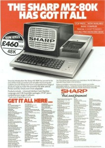 sharp mz80k