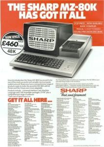 sharp mz80k