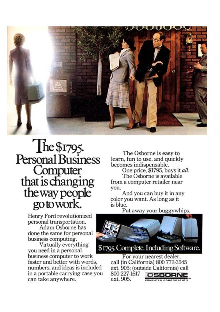 Osborne 1 advertisement
