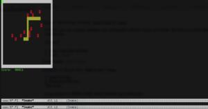 Mac OS X easter egg emacs